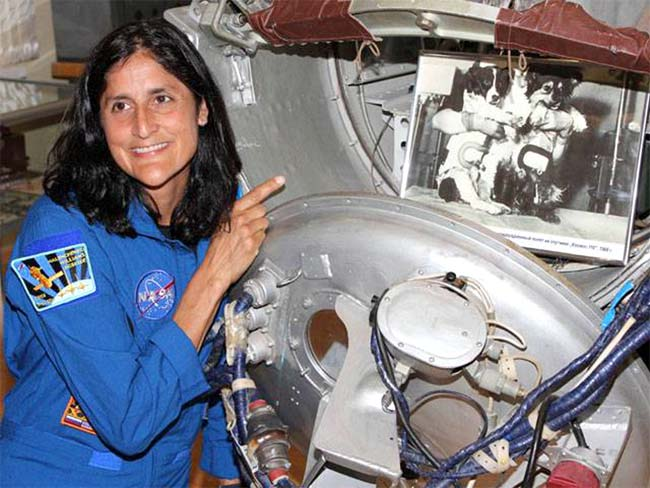 sunita williams in space station - photo #22
